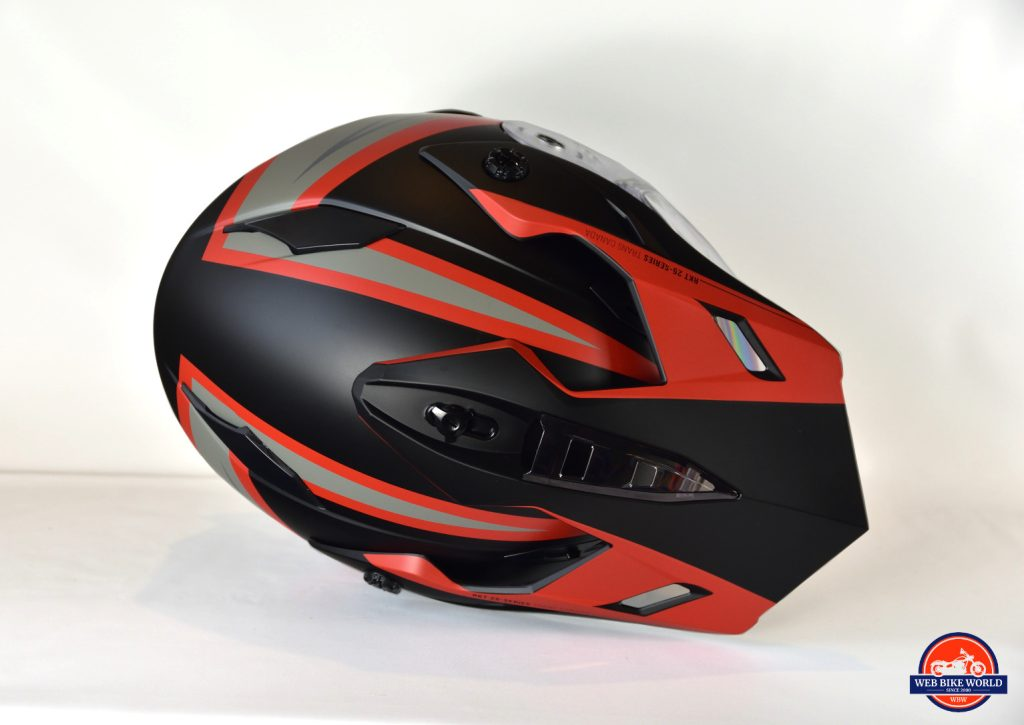 Joe Rocket Canada RKT-25 TransCanada Helmet Go Pro Mount Screw Hole