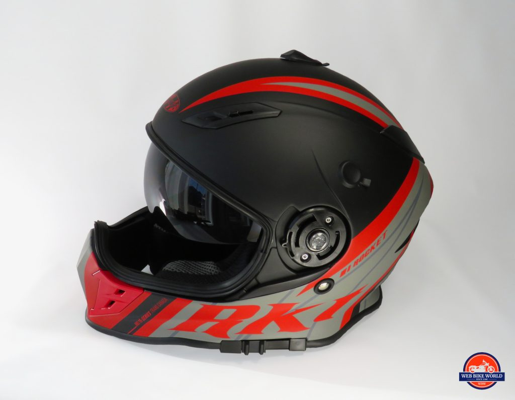 Joe Rocket Canada RKT-25 TransCanada Helmet with Visor Removed