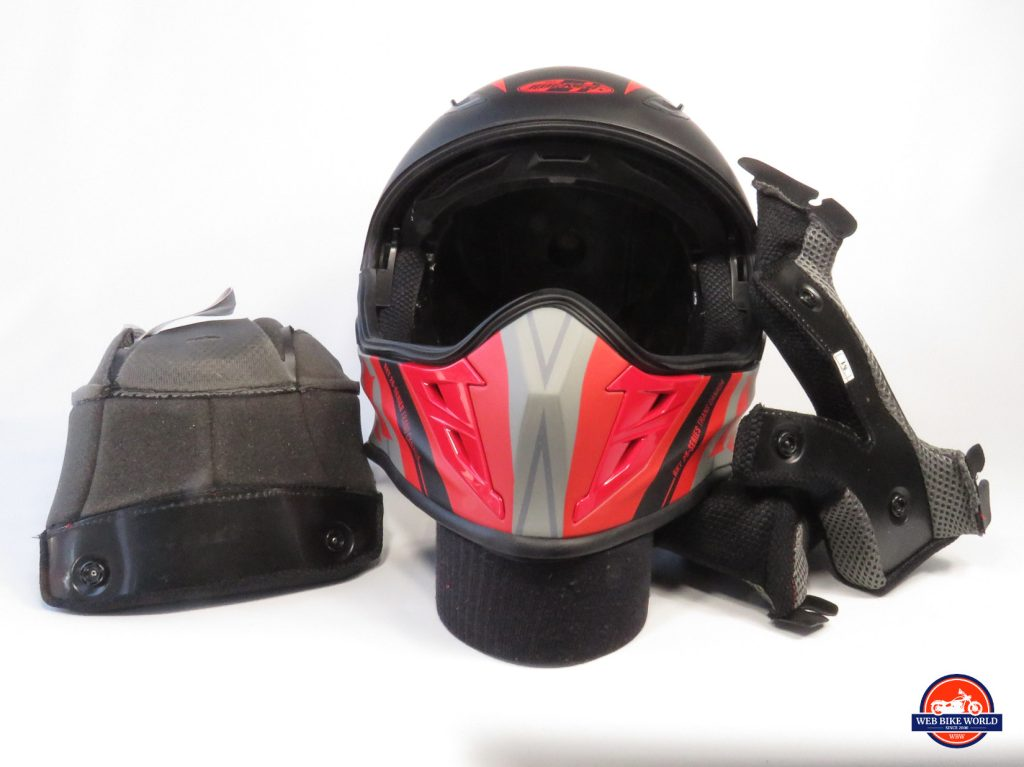 Joe Rocket Canada RKT-25 TransCanada Helmet and Accessories