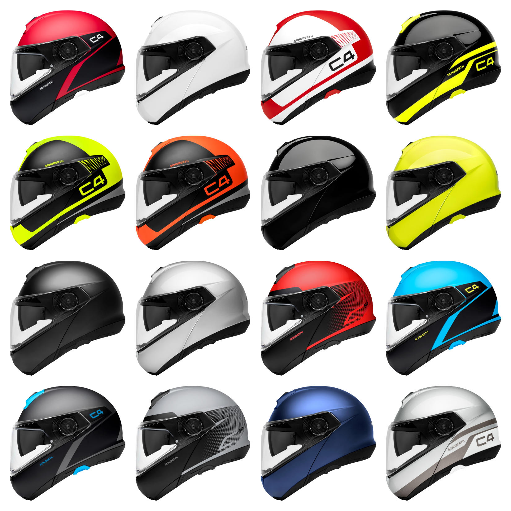 SCHUBERTH C4 Colorways