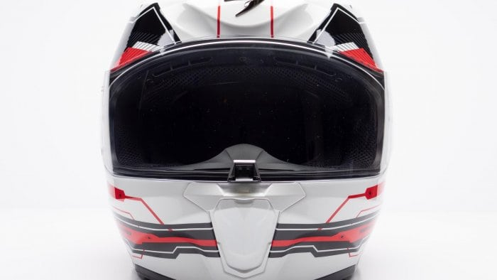Scorpion EXO R420 Helmet Frontal View