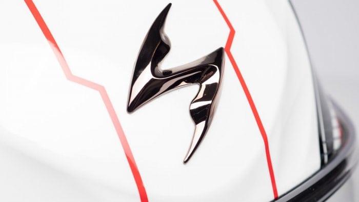 Scorpion EXO R420 Helmet Topside Logo