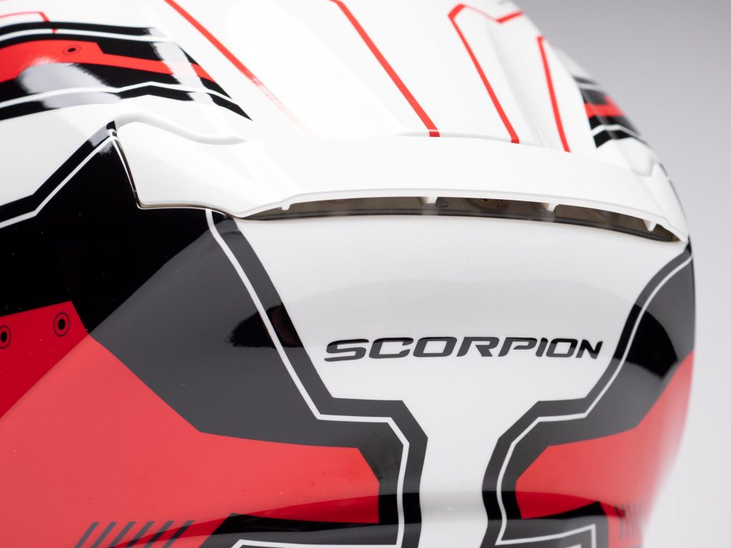 Scorpion EXO R420 Helmet Backside Ventilation