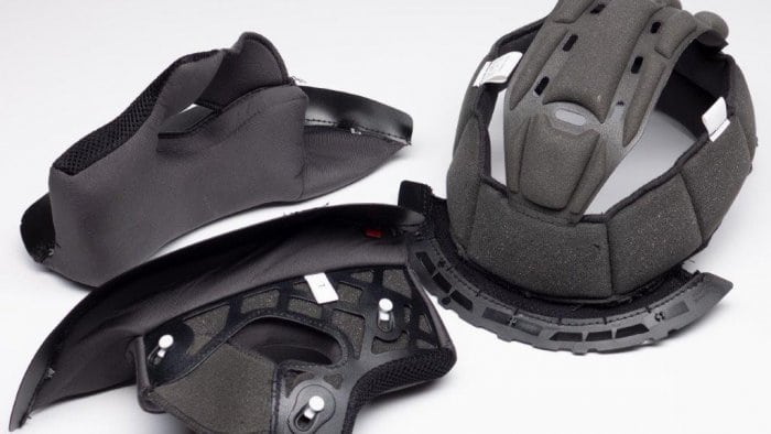 Scorpion EXO R420 Helmet Internal Shape Pieces and Attachments