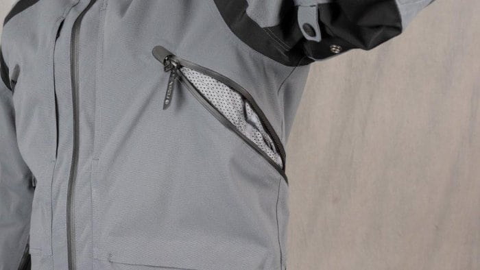 REAX Ridge Textile Jacket Side Chest Vents