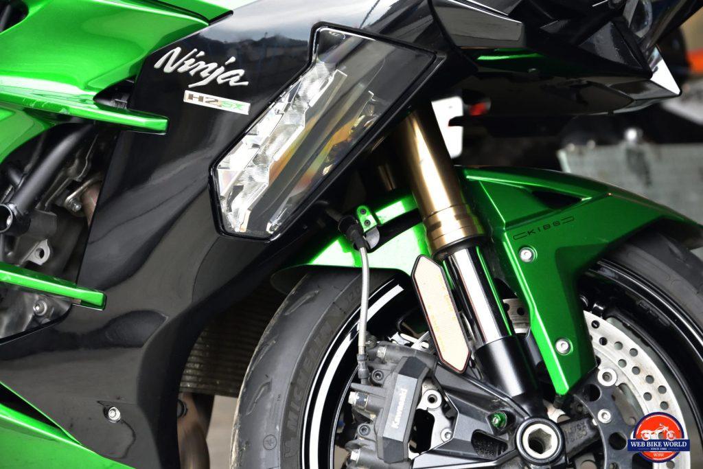 2018 Kawasaki Ninja H2SX SE.