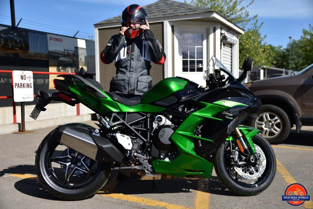 2018 Kawasaki Ninja H2SXSE.