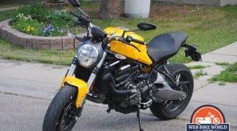 2018 Ducati Monster 821 Motorcycle