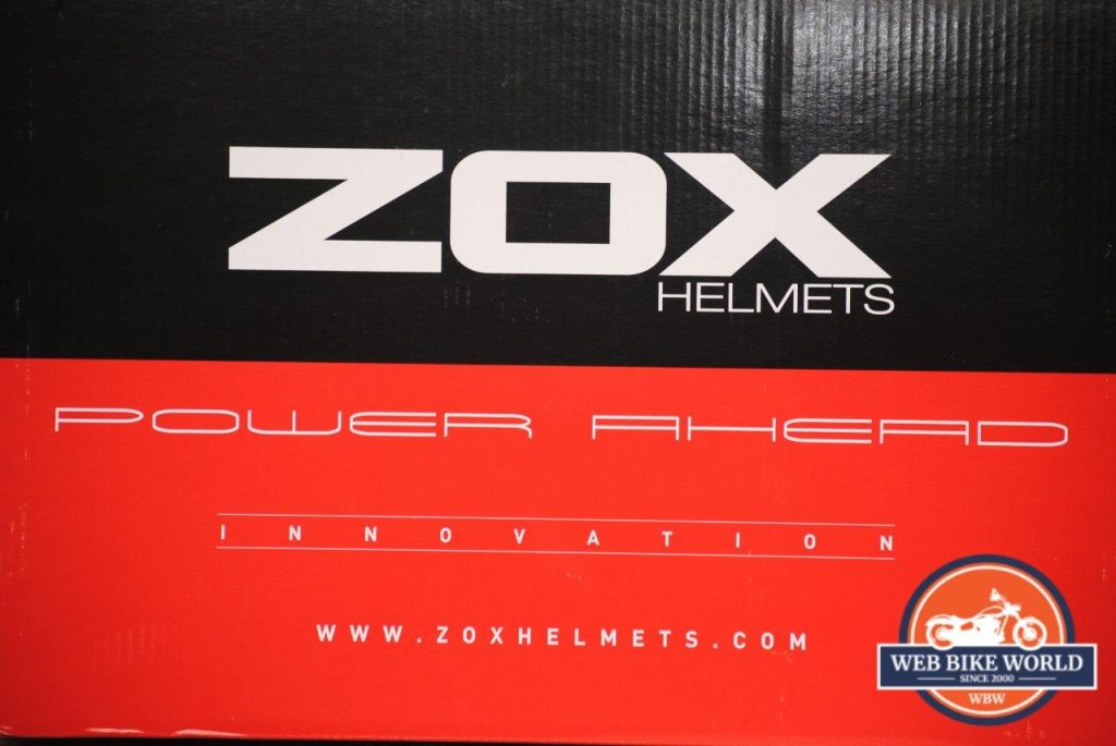ZOX Primo C Track Helmet Box Details