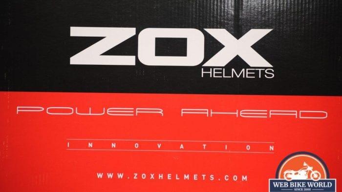 ZOX Primo C Track Helmet Box Details