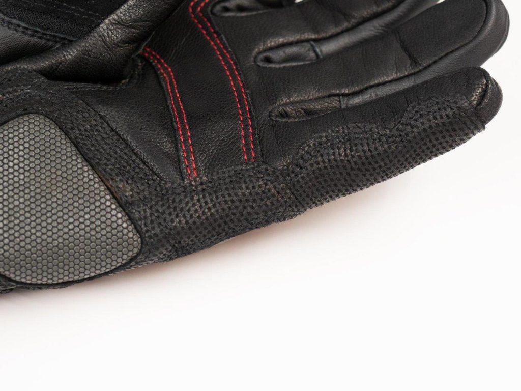 REAX Ridge Waterproof Gloves Palm & Finger material closeup