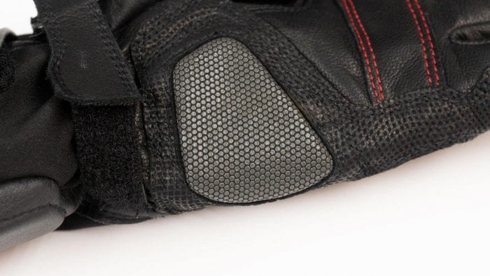 REAX Ridge Waterproof Gloves Lower Palm and Wrist Closeup