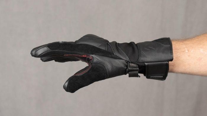 REAX Ridge Waterproof Gloves Worn on Model