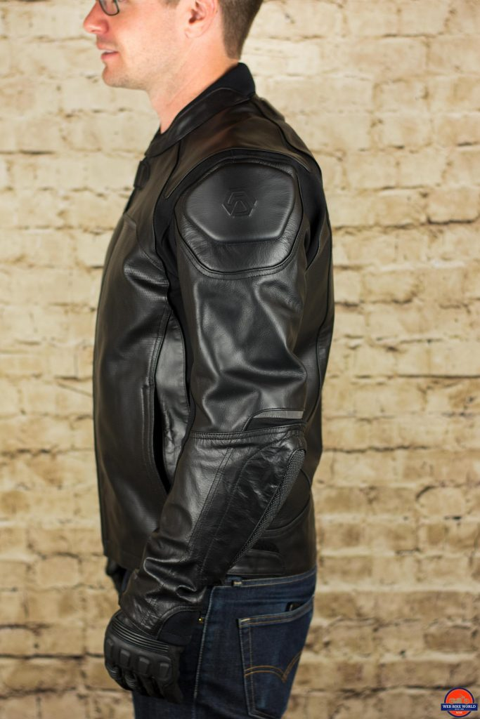 REAX Jackson Riding Jacket Left Side View
