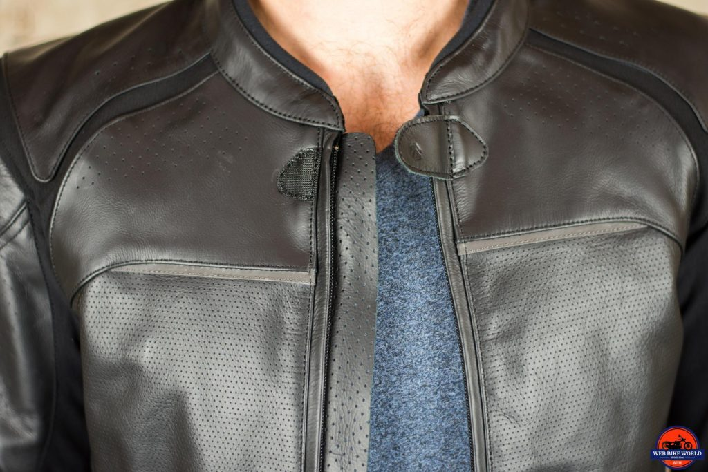 REAX Jackson Riding Jacket Collar Closeup