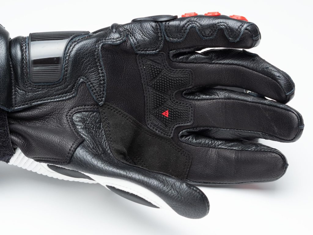 Dainese D1 Druid Long Gloves palm view material
