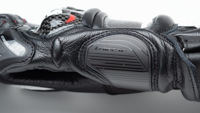 Dainese D1 Druid Long Gloves side view closeup