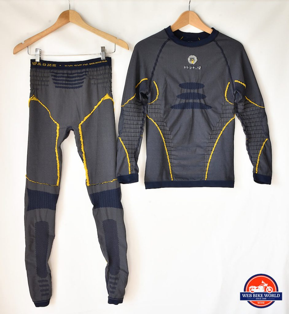 The Forcefield Armour Tech 2 Base Layer top and bottom.