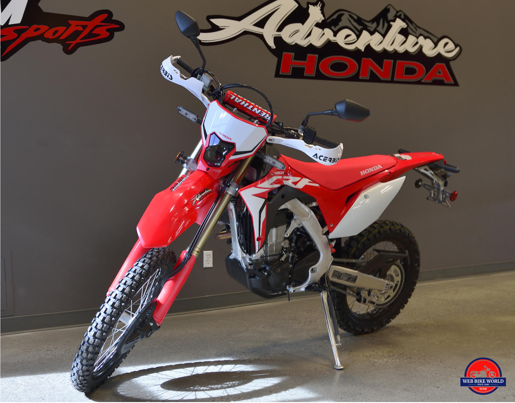Peachy 2019 Honda Crf450L Test Ride Review Webbikeworld Dailytribune Chair Design For Home Dailytribuneorg