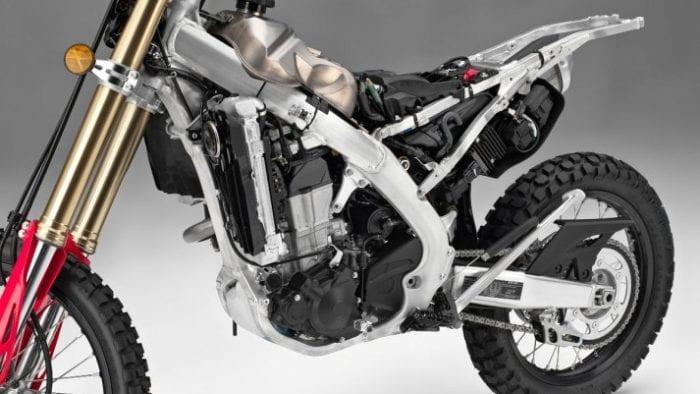 2019 Honda CRF450L frame