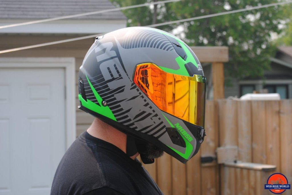 NENKI NK856 Helmet visor visibility