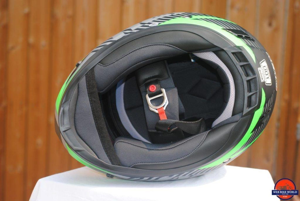 NENKI NK856 Helmet view underneath