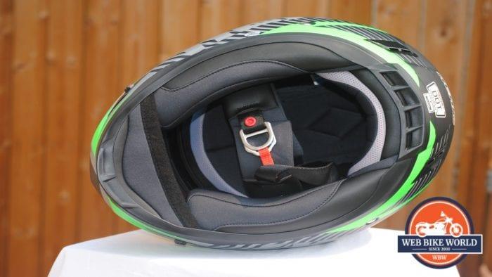 NENKI NK856 Helmet view underneath