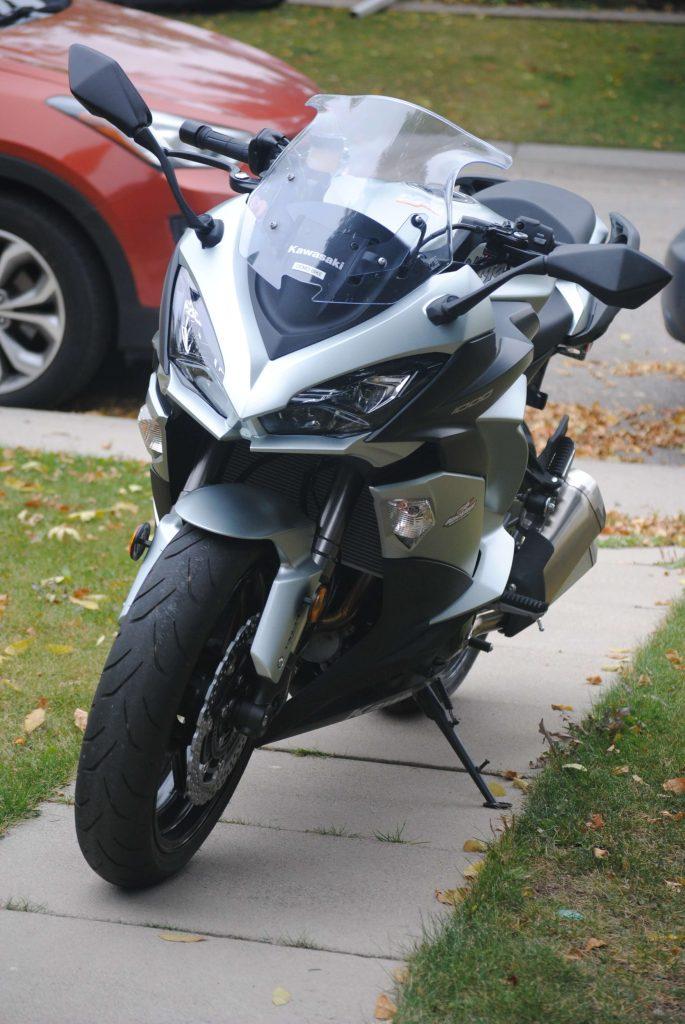 2018 Kawasaki Ninja 1000 ABS frontal view