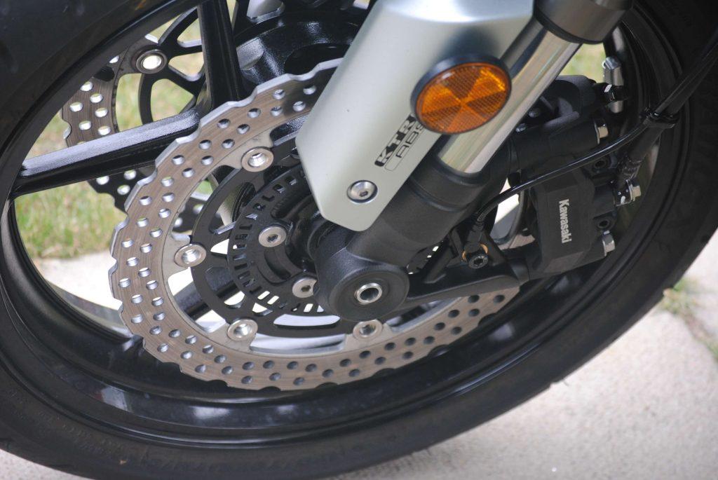Brakes on 2018 Kawasaki Ninja 1000 ABS