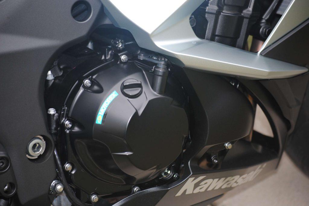 Engine on 2018 Kawasaki Ninja 1000 ABS