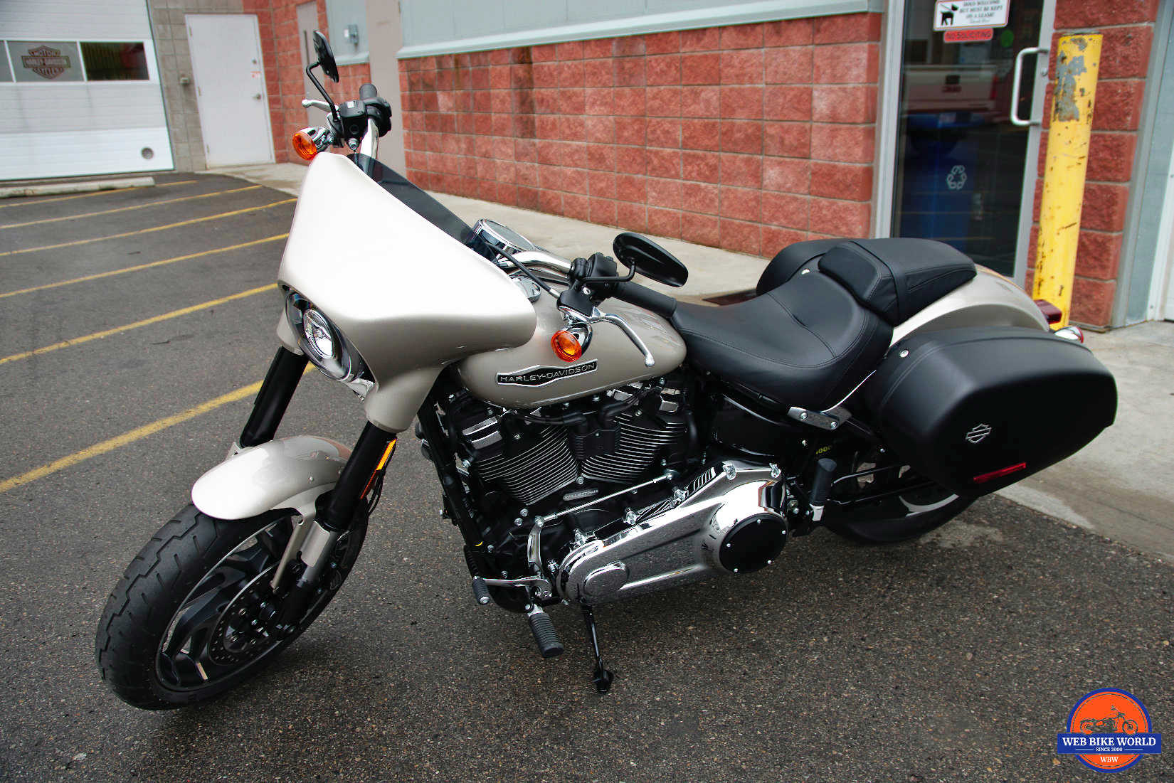 018 Harley Sport Glide.