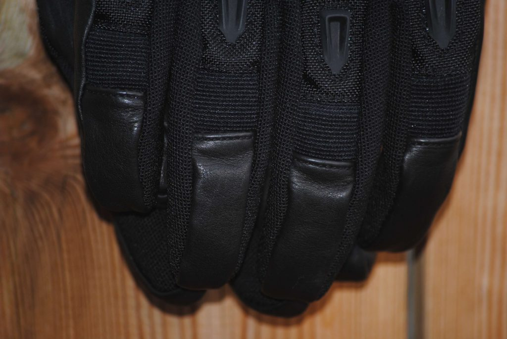 ICON Patrol Waterproof Gloves leather fingertips