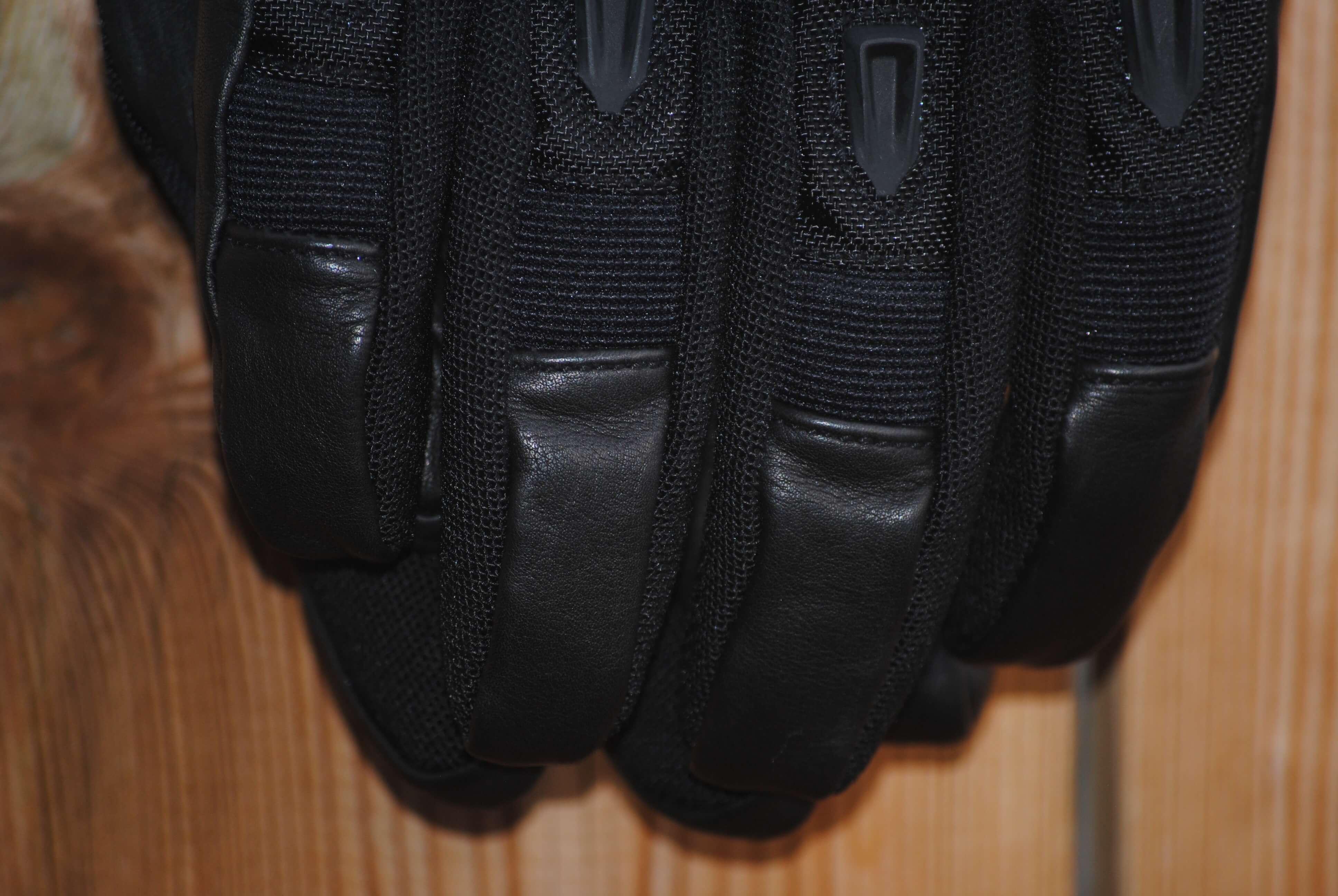 ICON Patrol Waterproof Gloves leather fingertips
