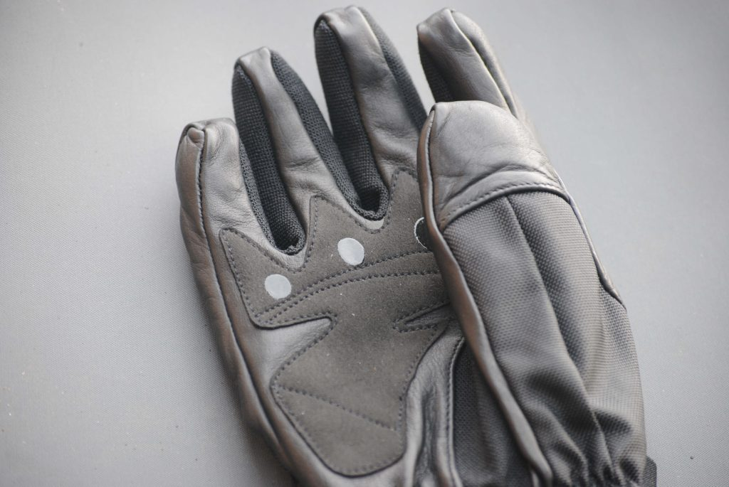 ICON Patrol Waterproof Gloves goatskin palm