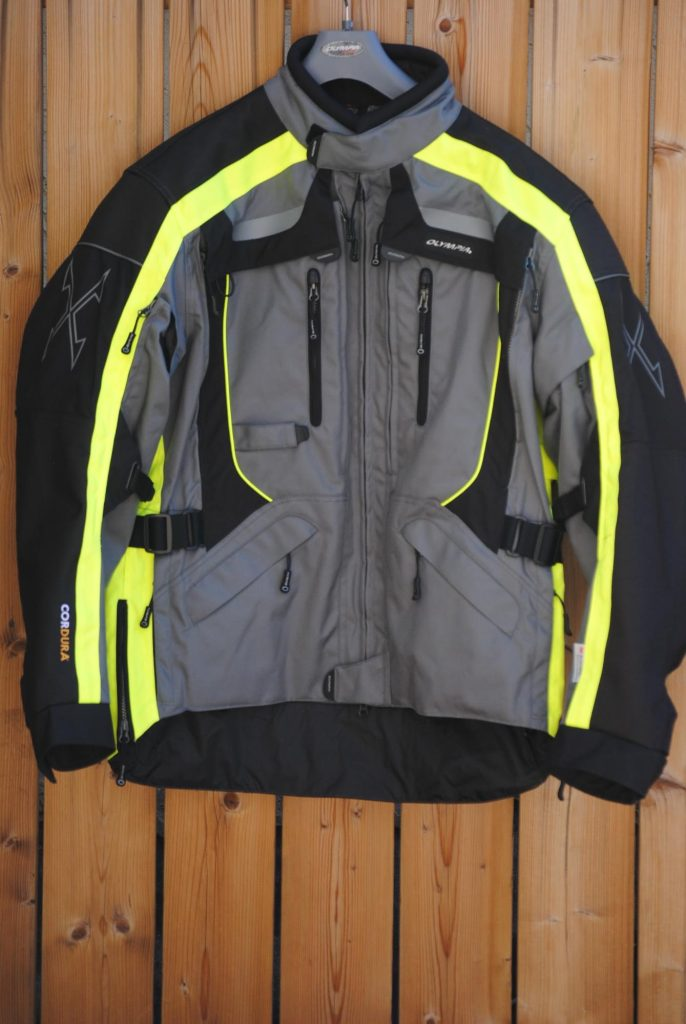 Olympia X Moto 2 Jacket Outer Shell Front