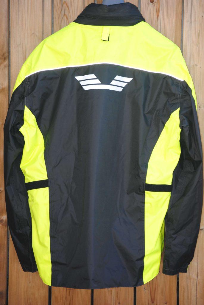 Olympia X Moto 2 Rain Jacket Rear