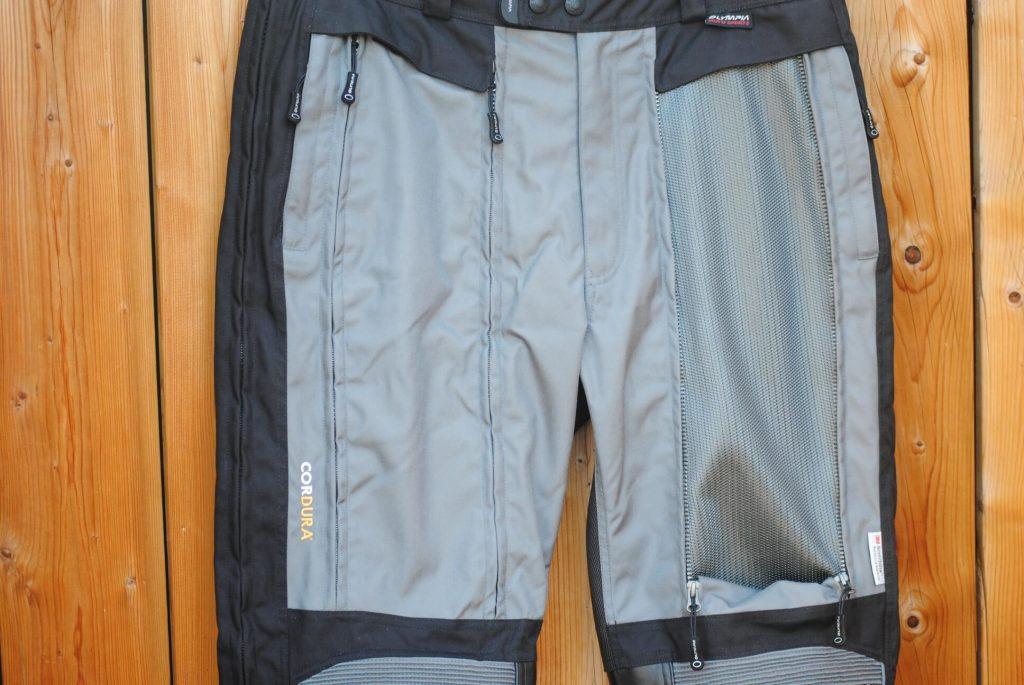 Olympia X Moto 2 Pants closeup