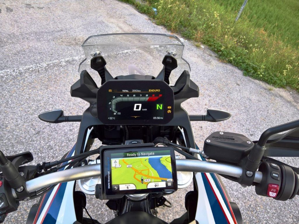 2019 BMW F850GS Rallye display