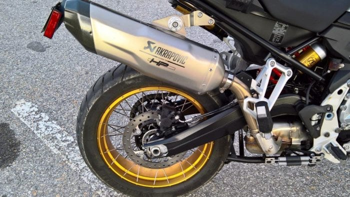 Optional HP Sport (Akrapovic) Sport Silencer