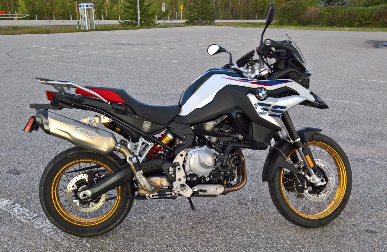 2019 BMW F850GS Rallye full view