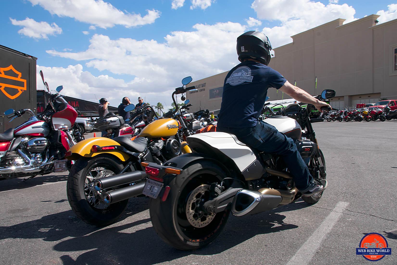 2019 Harley Davidson FXDR Test Ride