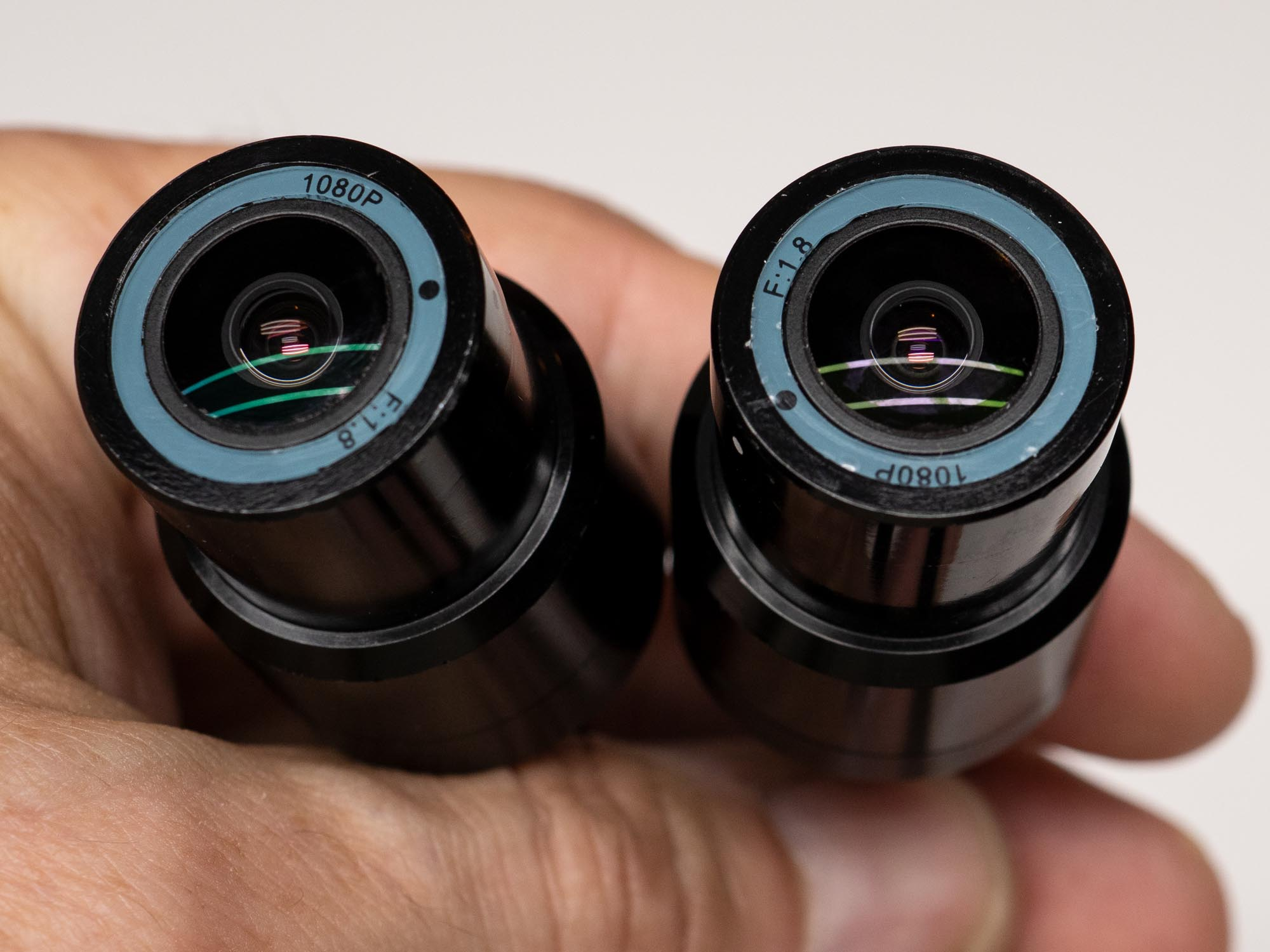 Halocam M1 Motorcycle Dashcam lenses