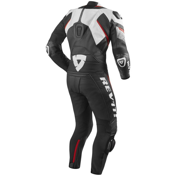 Revit spitfire leather race suit rear view