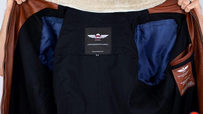 Vaktare Pilot Racer Motorcycle Jacket - Interior Lining