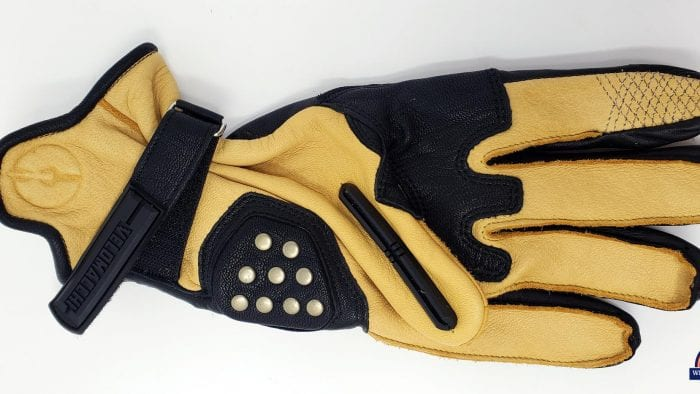 Velomacchi Speedway Leather Gauntlet Gloves