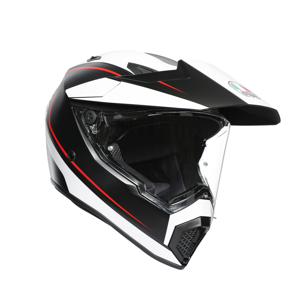 AGV AX9 red, black, white
