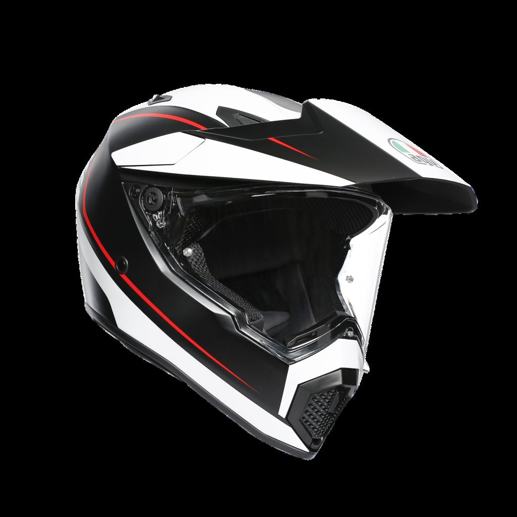 AGV AX9 red, black, white