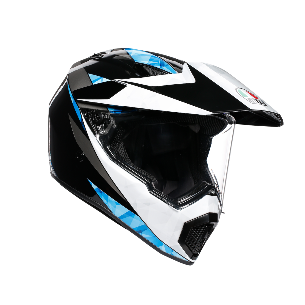 AGV AX9 black, white, blue