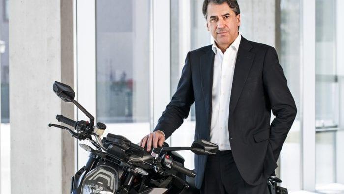 Stefan Pierer CEO of KTM