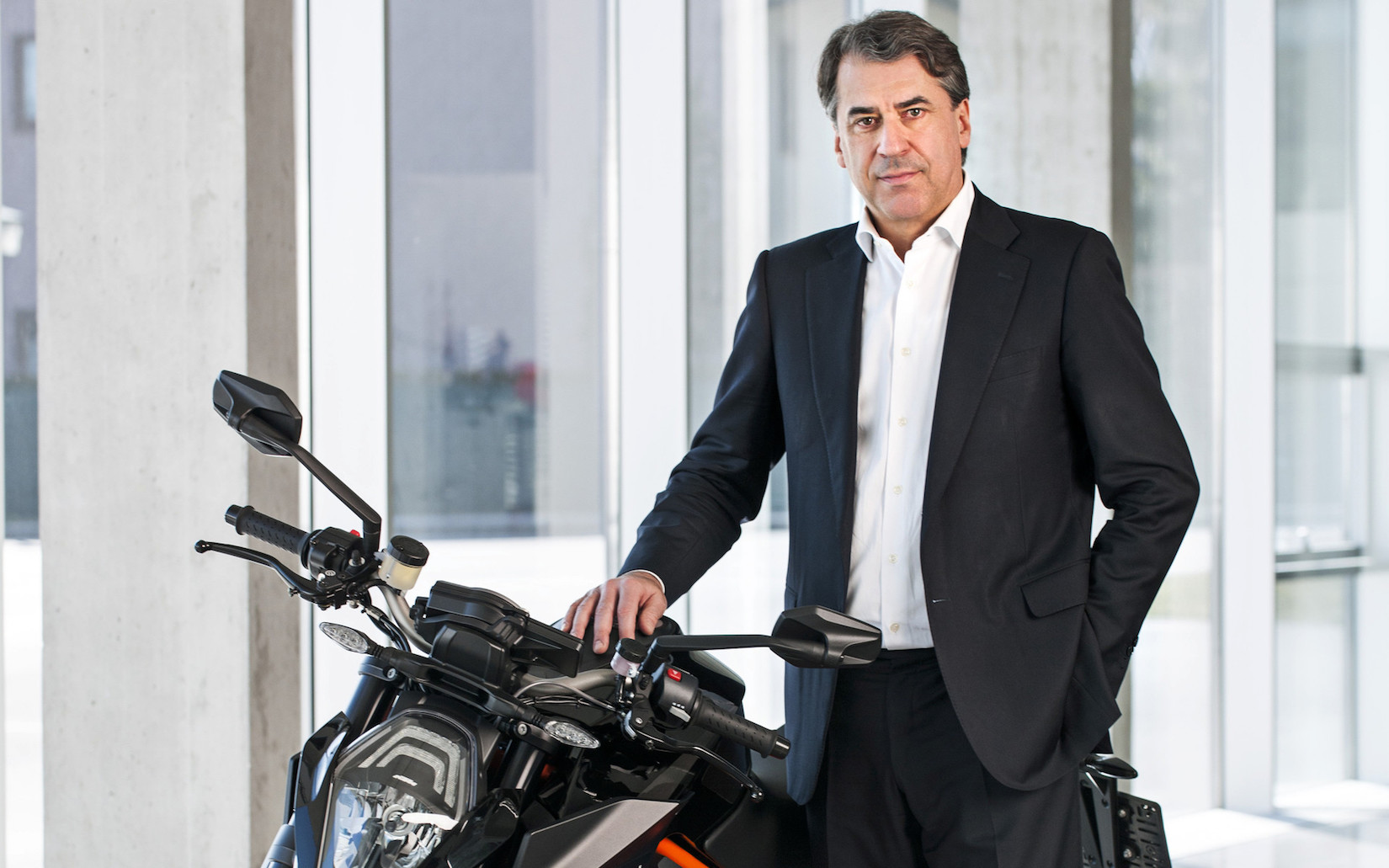 Stefan Pierer CEO of KTM